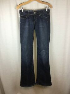 Paige-Premium-Denim-Jeans-Size-26-Laurel-Canyon-Distressed-Bootcut-USA