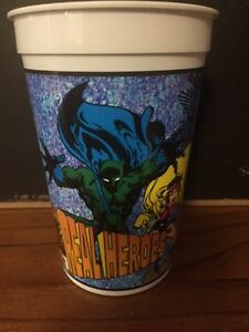 THE-THING-PROFESSOR-XAVIER-JUBILEE-1994-MARVEL-PIZZA-HUT-PLASTIC-CUP