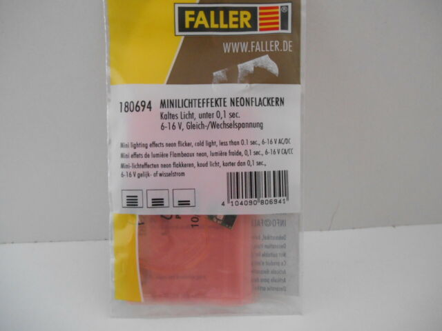 Faller 180694 Minilichteffekte Neonflackern (Neu & OVP)