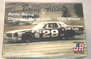 Bobby-Allison-28-Chevy-Monte-Carlo-Stock-Car-1-25-model-racecar-kit-new-sun