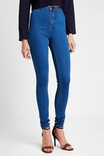 c61217b6364c item 6 Missguided TALL Vice High Waisted Skinny Stonewash Blue Jeans BNWT  Size UK 8 -Missguided TALL Vice High Waisted Skinny Stonewash Blue Jeans  BNWT Size ...