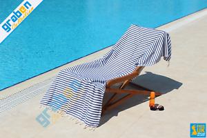 BEACH TOWEL 100/% COTTON LUXURY PESHTEMAL SPA SAUNA GYM YOGA PICNIC TOWEL