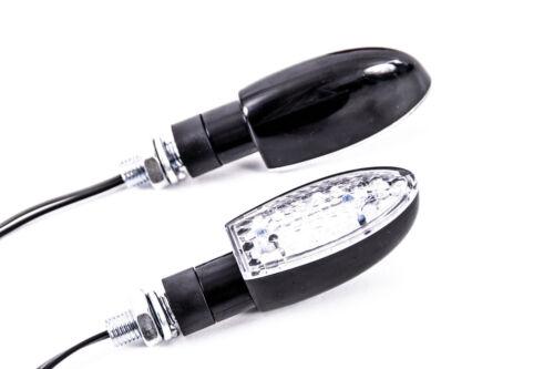 LED Yamaha KTM Motorrad Blinkleuchte Mini-Blinker Quad Roller Lampe 12V schwarz