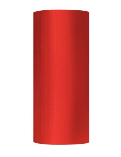 "Machine Pallet Red Stretch Plastic Film 20/"" x 5000/' 63 Ga Shrink Wrap 2 Rolls"