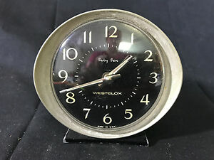 Image Is Loading Old Vtg Westclox Baby Ben Desk Alarm Clock