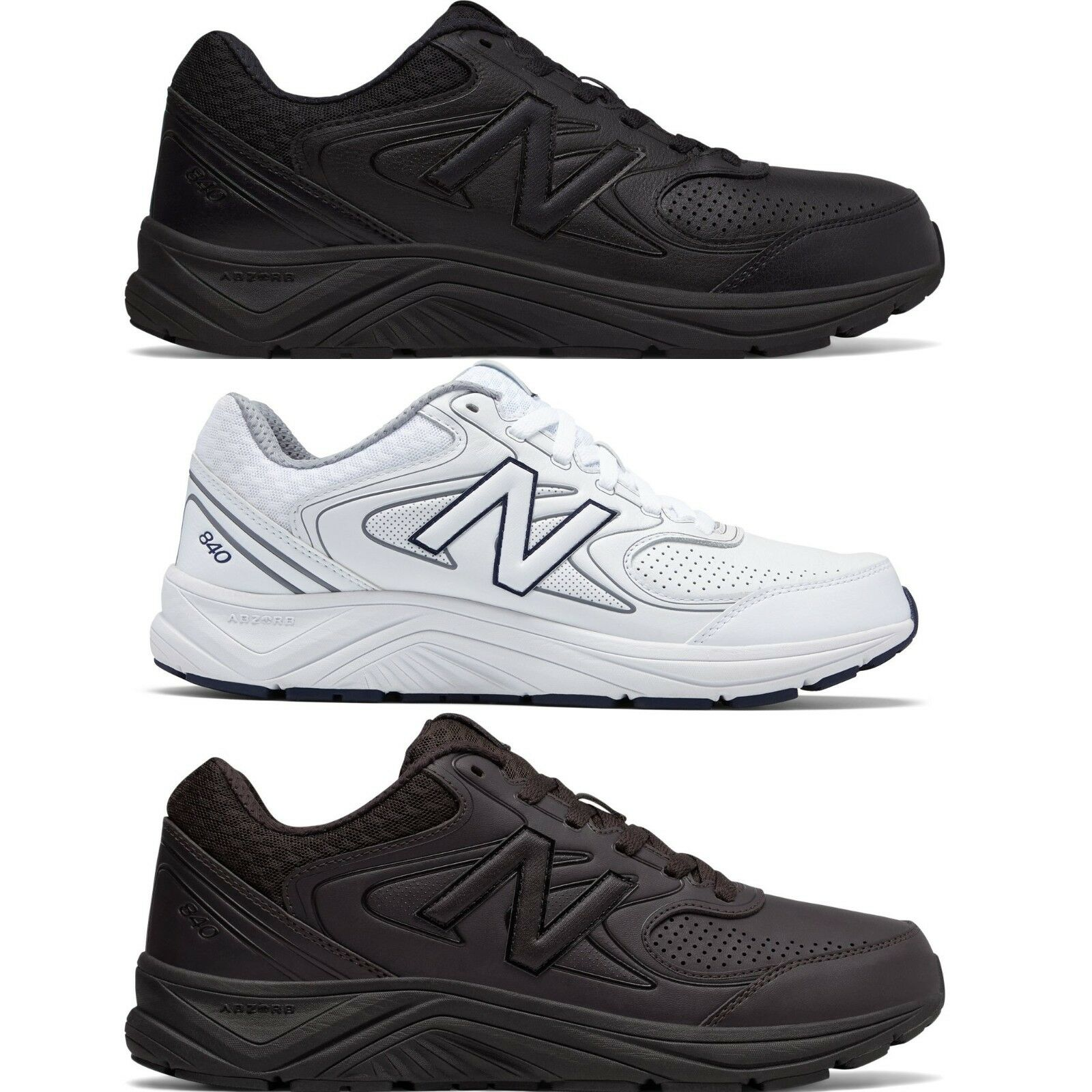 New Balance 840v2 Mens Running Walking Shoes Comfy Sneakers Width D , X Wide 4E