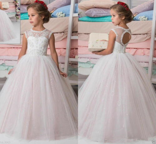 Flower Girl Dress NEW Communion Party Prom Princess Pageant Bridesmaid Wedding