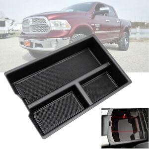 Ram 1500 Accessories >> Details About Center Console Organizer Armrest Box Fits 2009 2018 Dodge Ram 1500 Accessories
