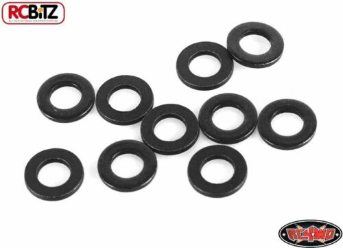 RC4WD M3 Flat Washer BLACK Z-S0909 Spacer TF2 G2 RC Spacer Packer Shim
