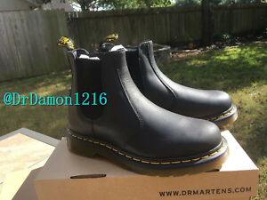 143a62ece Image is loading NIB-Dr-Martens-2976-Carpathian-Chelsea-Boot-Black-