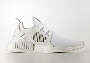 finest selection 4c899 7f1bb Details about Adidas NMD XR1 PK Primeknit BY9922 Triple White Originals Mens