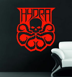 Image Is Loading Marvel Hydra Symbol Agents Of S H I E L D Decorative Vinyl