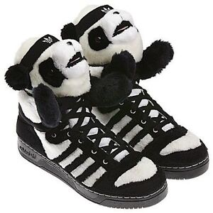 finest selection 6d2fa fa639 Image is loading Adidas-Originals-ObyO-Jeremy-Scott-JS-Panda-Bear-