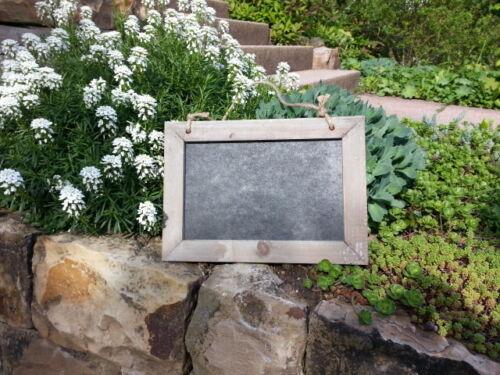 Schwarz Sisalband Tafel Kreidetafel Sterzing Shabby Design 31x25 cm Graubraun