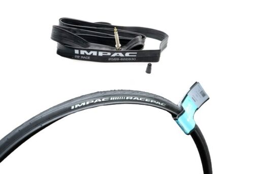 Impac Race 700x20c 700x23c 700x25c Road Bike inner tube presta valve 40 mm//60 mm