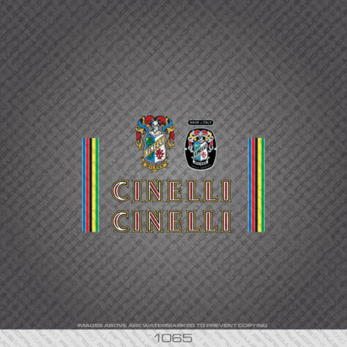 01065 Cinelli Bicycle Stickers Decals Transfers