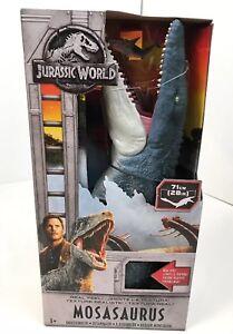 Jurassic World Legacy Nouveau Mosasaurus 288 '' en vrai! Dans la main Fast Ship Noël 887961590678