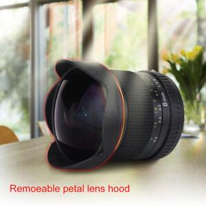 8mm-f-3-5-Wide-Angle-Manua-Fisheye-Lens-With-Hood-for-Nikon-DSLR-Cameras