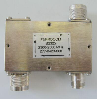 Circulator Model B2325 2.3-2.5 GHZ RFS Ferrocom N Type Coaxial Isolator