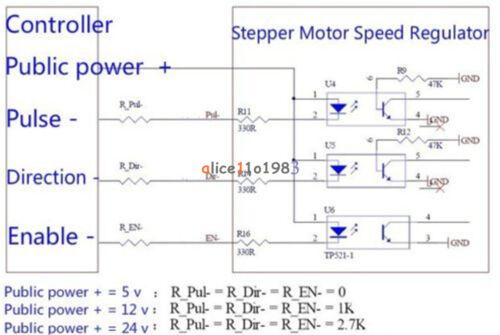 Reversible Stepper Motor Speed Regulator Pulse Signal Controller stepping
