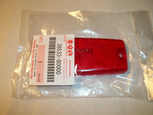 OEM 1986-1995 SUZUKI SAMURAI REAR SIDE MARKER LIGHT LENS # 36533-80000