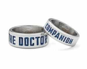 DR-WHO-OFFICIAL-BBC-LICENSED-DOCTOR-SIZE-6-AND-COMPANION-SIZE-9-RING-SET-NEW