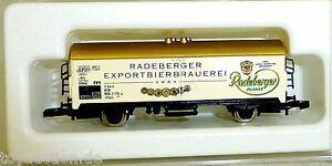 Radeberger Exportation Brasserie Gmbh Märklin Voie Z 1: 220 1058 Å