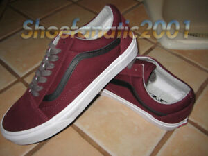 8ecb205b20 Vans Sample Old Skool Jersey Laced Port Royale Black Reverse Suede ...