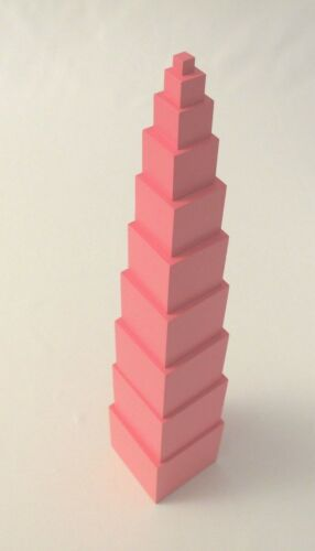 Family Set Montessori Mini Pink Tower NEW Montessori Sensorial Material