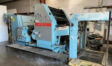 Man Roland Miehle 236 23 X 36 Straight 2 Color Printing Press