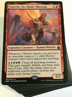 Tribal Warriors ***Custom Commander Deck*** Najeela EDH Mtg Magic Cards