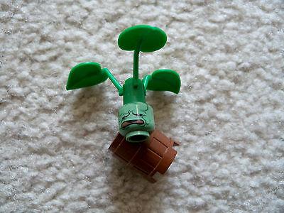 From 5378 LEGO Harry Potter Super Rare Original Mandrake Plant w// Barrel