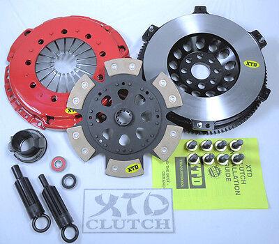 XTD STAGE 3 CERAMIC CLUTCH /& RACE FLYWHEEL KIT 01-06 BMW M3 E46 3.2L