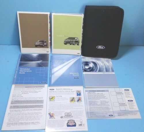 09 2009 Ford Taurus X owners manual