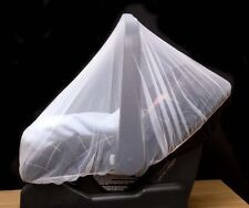 Insect Net for Infant Car Seats Mesh Protection White