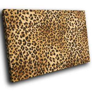 Animal-Cheetah-Skin-Fur-Funky-Animal-Canvas-Wall-Art-Large-Picture-Prints