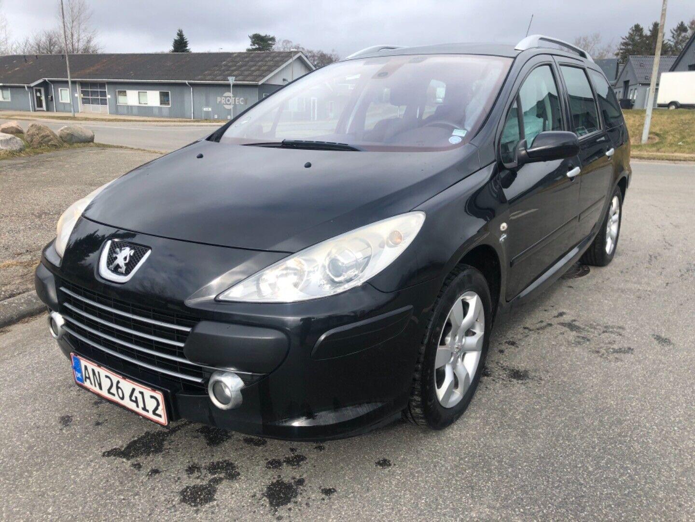 Peugeot 307 1,6 HDi 109 Complete SW 5d - 18.900 kr.