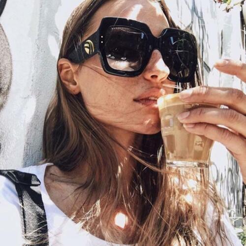 New Sunglasses Women Square Oversized