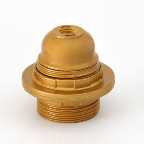 Plastic Lampholder e27 Threaded Body with 2 dials