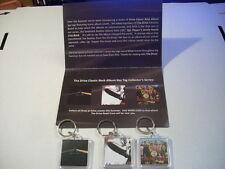 WDRV 97.1 The Drive 3 Classic Rock Album Cover Keychain Set