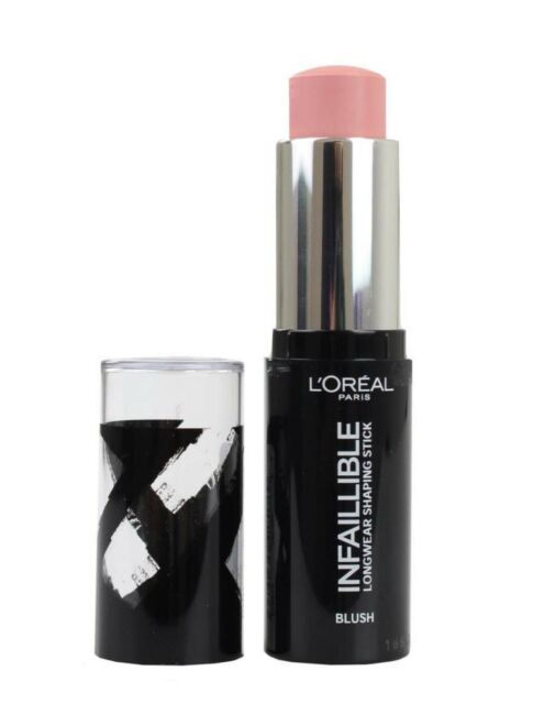 L'OREAL INFALLIBLE BLUSH LONGWEAR SHAPING STICK 001 SEXY FLUSH