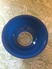 Blue Pyrex Primary Fiesta Color Clear Glass Bottom RAINBOW  #325 Mixing Bowl/s