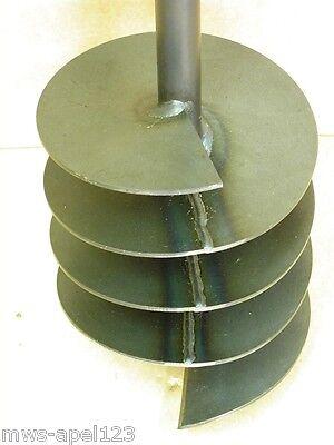 Forage en-tête 200 mm, tarière à main, puits, tariere, perceuse de puits