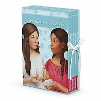 American Girl Book Marie Grace & Cecile Boxed Set W/game Paperback Retired