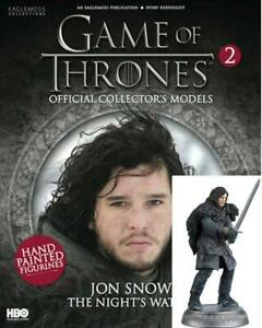 Game-Of-Thrones-GOT-Official-Collectors-Models-2-Jon-Snow-Nights-Watch-NEW