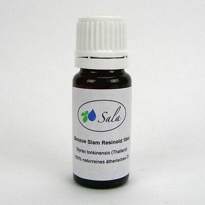 (29,00/100ml) Sala Benzoeöl naturreines ätherisches Benzoe Siam Resinoid Öl 10ml