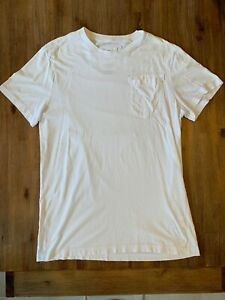 G-Star-Raw-Mens-Large-White-Pocket-T-Shirt-in-Excellent-Condition