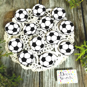 12-Soccer-Ball-Pins-1-25-034-PIN-BACK-BUTTONS-BADGES-party-favors-gift-pinback-USA
