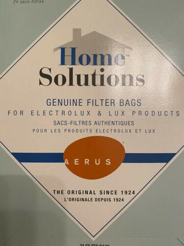 Aerus Home Solutions Genuine Vacuum Filter Bags Style C Electrolux /& Lux