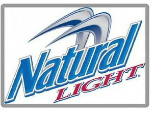 natural light beer logo refrigerator tool box magnet ebay rh ebay com natural light logo history natural light beer logo